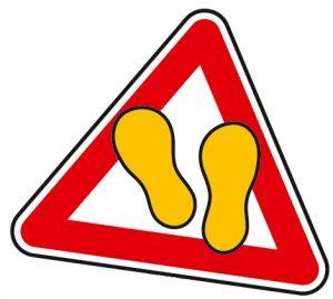 Achtung Kleine Gelbe Füße